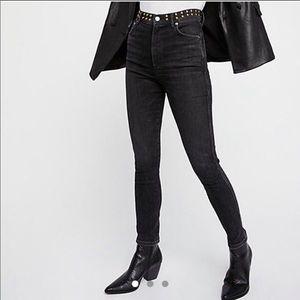 ✨{Agolde} Roxanne Studded Skinny Jean✨